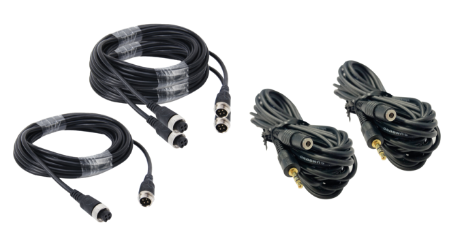 VT-CAR/VAN CAMERA CABLE KIT 3CH